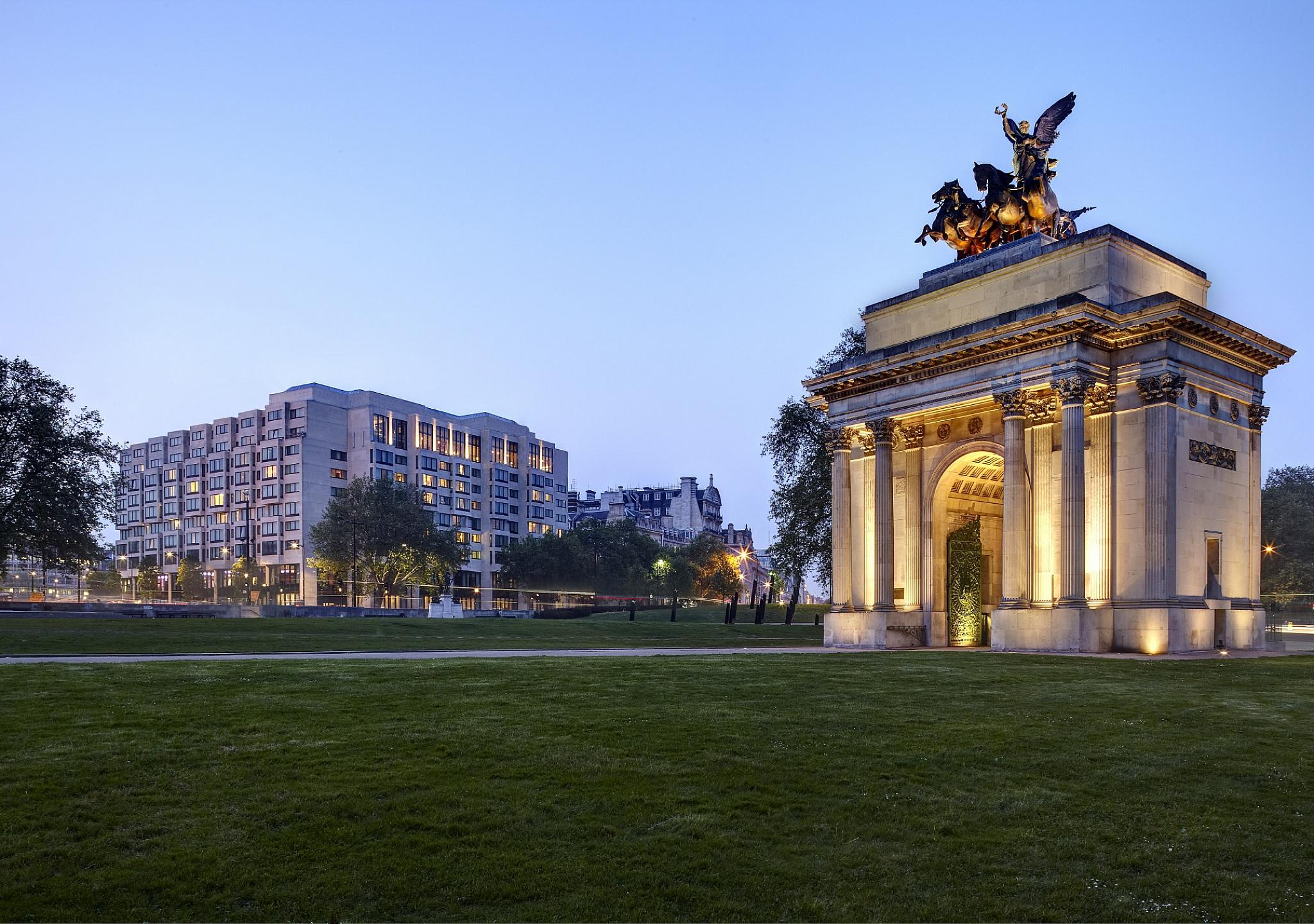 InterContinental Park Lane London - Park Lane and Wellington Arch
